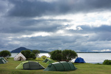 Myvatn, Camping Site Photographic Print by Catharina Lux