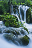 Croatia, National Park Plitvice, Waterfall Photographic Print by Rainer Mirau