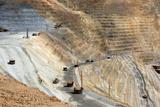 USA, Bingham Canyon Mine, the Biggest Copper Mine of the World Impressão fotográfica por Catharina Lux