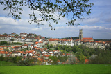 Switzerland, Fribourg on the Sarine River Photographic Print by Uwe Steffens