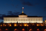 Moscow, Kremlin, Grand Kremlin Palace, at Night Photographic Print by Catharina Lux