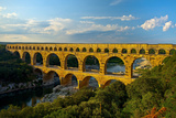 Europe, South of France, Provence, Avignon, Pont Du Gard, Aqueduct Photographic Print by Chris Seba