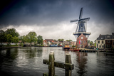 The Netherlands, Haarlem, Mill, Windmill, De Adriaan Reproduction photographique par Ingo Boelter