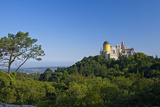 Portugal, Lisbon, Sintra, Palacio Da Pena Photographic Print by Chris Seba