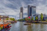 The Netherlands, Frisia, Leeuwarden, Harbour Reproduction photographique par Ingo Boelter