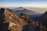 View from the Summit Roque De Los Muchachos, Caldera De Taburiente Mountains Photographic Print by Gerhard Wild