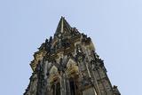 Steeple of the Nikolaikirche, St Nikolai, Hamburg-Mitte, Hanseatic City of Hamburg, Germany Photographic Print by Axel Schmies