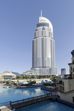 Luxury Hotel the Address, 63 Floors, Metropolis, Downtown Dubai, Dubai, United Arab Emirates Photographic Print by Axel Schmies