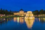 Germany, Hesse, Rheingau Region, Wiesbaden, Health Resort Photographic Print by Udo Siebig