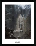 Skyrim - Elf Temple Stampa del collezionista