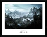 Skyrim - Vista Lámina de coleccionista