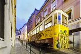 Elevador Do Lavra, Lisbon, Portugal Fotografisk trykk av Axel Schmies
