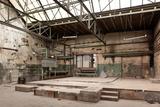 Berlin, Oberschšneweide, Disused Power Station, Hall Fotografisk trykk av Catharina Lux