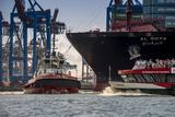 Germany, Hamburg, Elbe (River), 'Fischmarkt', Harbour Reproduction photographique par Ingo Boelter