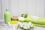 Still Life, Green, Fountainness, Bath Photographic Print by Andrea Haase