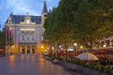 Luxembourg, Capital of Luxembourg, City Palais, Gastronomy, Dusk Photographic Print by Chris Seba