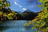 Germany, Bavaria, Sunny Autumn Day, 'Schwansee' (Lake) Near FŸssen Photographic Print by Uwe Steffens