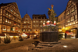 Germany, Rhineland-Palatinate, the Moselle, Bernkastel-Kues, Christmas Market Photographic Print by Chris Seba