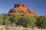 Bell Rock, Sedona, Arizona, Usa Photographic Print by Rainer Mirau