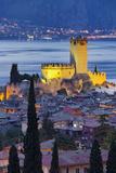 Castle of Malcesine at Lake Garda, Veneto, Italy Photographic Print by Rainer Mirau