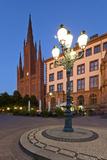 Europe, Germany, Hesse, Wiesbaden, Stone Mosaic Photographic Print by Chris Seba