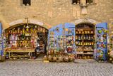 France, Provence, Bouches-Du-Rh™ne, Les Baux-De-Provence, Old Town, Souvenir Shop Photographic Print by Udo Siebig