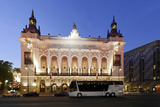 Theater Des Westens, Dusk, Berlin, Germany, Europe Photographic Print by Axel Schmies
