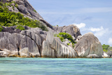 Anse Source D'Argent, La Digue, Seychelles, Dream Beach, Granite Rocks, Clear Water, Indian Ocean Photographic Print by Harry Marx