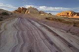 Sandstone, Valley of Fire State Park, Nevada, Usa Photographic Print by Rainer Mirau