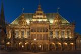 City Hall, Rathausplatz, Bremen, Germany, Europe Photographic Print by Chris Seba
