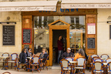 France, Provence, Vaucluse, Lourmarin, Old Town, Bistro Photographic Print by Udo Siebig