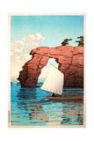 Matsushima Beach, Tokyo Giclee Print by Kawase Hasui