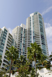 Apartment Tower at the South Pointe Beach, Miami South Beach, Art Deco District, Florida, Usa Photographic Print by Axel Schmies
