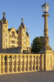 Germany, Western Pomerania, Schwerin Palace, Evening Sun Photographic Print by Chris Seba