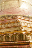 Golden Details at Shwezigon Temple in Bagan, Myanmar Photographic Print by Harry Marx