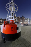 Buoy 'Elbe 1', Hafencity, Hanseatic City of Hamburg, Germany Photographic Print by Axel Schmies