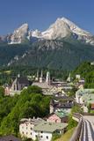 Watzmann, Berchtesgaden, Berchtesgadener Land District, Bavaria, Germany Photographic Print by Rainer Mirau
