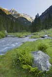 Torrente Sarca in Val Nambrone, Trentino, Italy Impressão fotográfica por Rainer Mirau