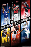 NFL- Top Wide Receivers Posters