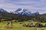Germany, Bavaria, Upper Bavaria, Werdenfelser Land, Alpenwelt Karwendel Photographic Print by Udo Siebig