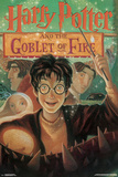 Harry Potter And The Goblet Of Fire- Book Art Cover アートポスター