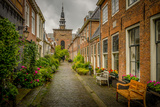 The Netherlands, Haarlem, Street, Lane Reproduction photographique par Ingo Boelter