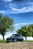 Vielbrunn, Hesse, Germany, Mercedes 170 Ds, Type W191, Year of Manufacture 1953 Reproduction photographique par Bernd Wittelsbach