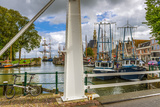 The Netherlands, Hoorn, Harbour, Tower, Hoofdtoren Reproduction photographique par Ingo Boelter