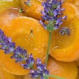Apricots with Lavender, Detail Fotografie-Druck von C. Nidhoff-Lang