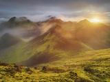 Storkonufell, Mofell, Fjallabak, South Iceland, Iceland Fotografie-Druck von Rainer Mirau