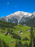 Austria, Tyrol, East Tyrol, Farmhouses Reproduction photographique par Gerhard Wild