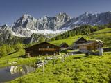 Neustattalm, Dachstein, Styria, Austria Impressão fotográfica por Rainer Mirau