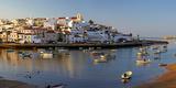 Portugal, Algarve, Portimao, Ferragudo, Townscape, Morning Mood Photographic Print by Chris Seba