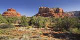 Bell Rock, Courthouse Butte, Bell Rock Trail, Sedona, Arizona, Usa Photographic Print by Rainer Mirau